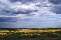 landscape. Donets river. Russia