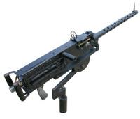 Old Machine Gun (clipping path)