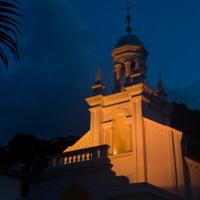 Colonial Church Facade