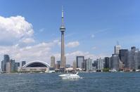 Toronto skyline with domed stadium