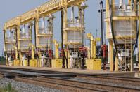 Railroad Diesel Locomotive Fuel Station