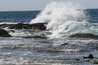 Laguna Beach Crashing White Water Waves