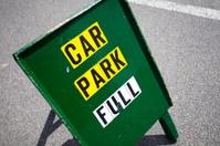Car park full sign