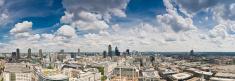 London big sky cityscape