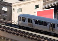 Chicago commuter train