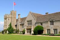 Rockingham Castle Lawn