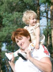 Mum and the child