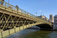 Pont d'Arcole et Notre Dame de Paris