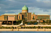 putra mosque putrajay malaysia islam muslim religion