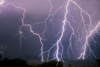 Lightning strike, Colorado