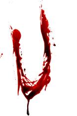 Dripping Bloody Alphabet