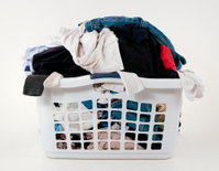 clean or dirty laundry