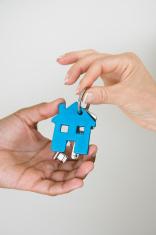 giving the house keys