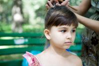 Girl and barber