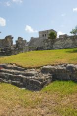 Tulum temple ruin Mexico