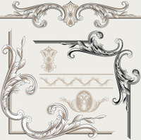 Classic Decoration Frame Elements