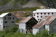 Abandoned Alaska Mining Camp