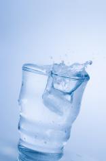 Agua helada