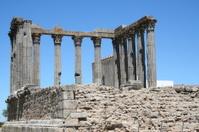 Roman Temple in Évora, Portugal