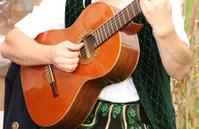 Bavarian guitar player