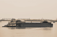 Barge by Sepia