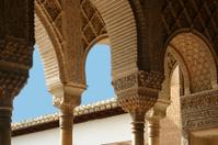 Arcos en la Alhambra. Granada
