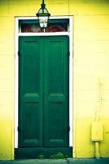 New Orleans Door 2 - Lomography Effect