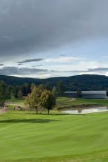 Golf course.