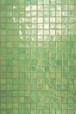 Green tiles background