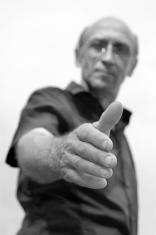 hand of man
