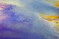 Abstract Art - Purple, Blue, Yellow