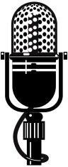 Vintage Microphone 1 (Jpg & Vector)