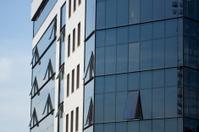 Business modern building background