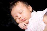 Precious Sleeping Newborn Baby