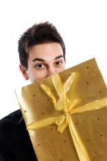Receiving a present