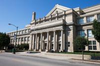 American High School Neoclassical Architecture