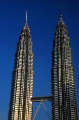 Petronas Twin Towers At Dawn