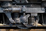 Wheel of the railway diesel tractor