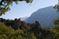 swiss hills and nature