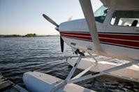 Seaplane waiting