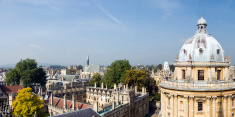 Radcliffe Camera and All Souls College in Oxford UK