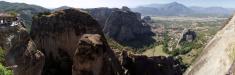 Meteory monastery panorama 2
