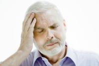 senior man headache memory loss