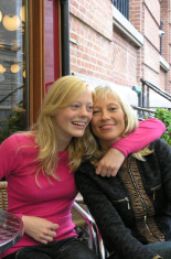 Teen and her mother