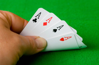 Hand of aces