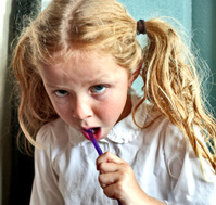 Reluctant Toothbrusher