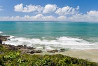 Nice seashore in Brasil