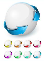 Set of dynamics icons