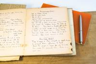 Handwritten Recipes from 1940s.