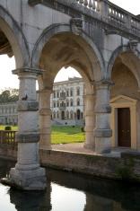 Villa Contarini con porticato